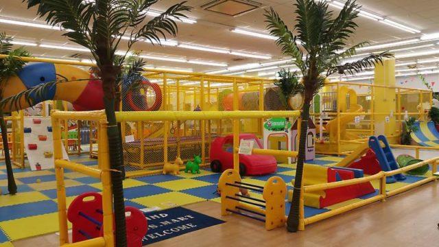 遊び放題の室内型遊園地