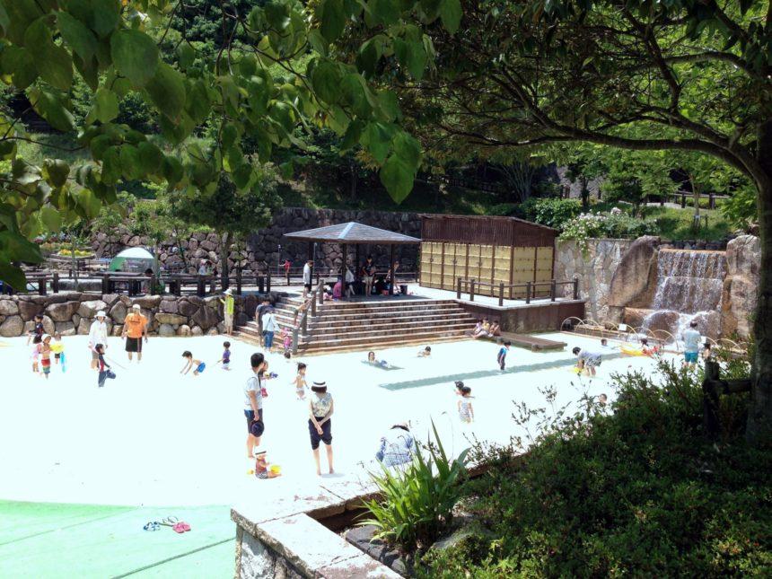 西山公園ジャブジャブ池
